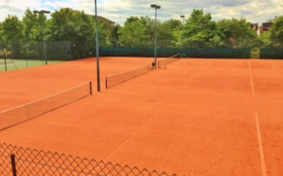 The Artificial Clay Courts  are here!