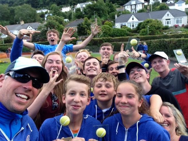 West Mid Lawn Tennis Club successful in Ilfracombe