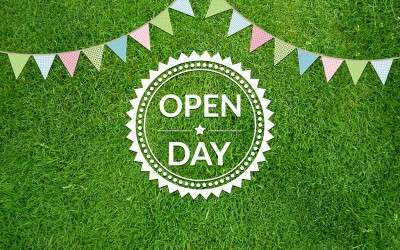 Open day 20th March